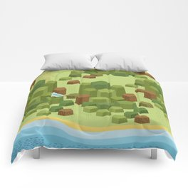 Giant Causeway Comforters