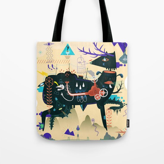 Lost piece Tote Bag