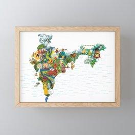 India my love Framed Mini Art Print