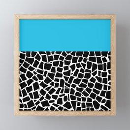 British Mosaic Electric Boarder Framed Mini Art Print