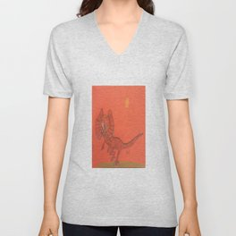 Frilled Lizard Unisex V-Neck