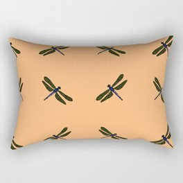 Battimamzelle Design - Peach Rectangular Pillow