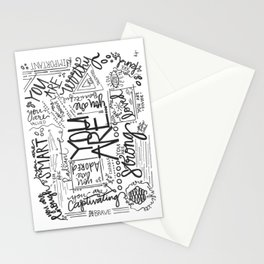 You Are * Stationery Cards
