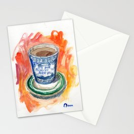 Dogs with Bagels Stationery Cards