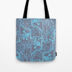 1982 Blue Tote Bag