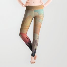 Storms over Keiisino Leggings