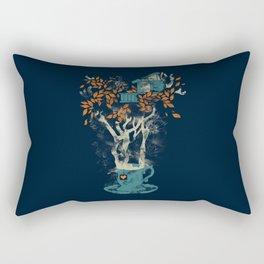 Tea House Rectangular Pillow
