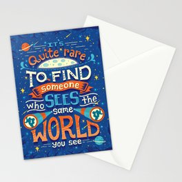 Same World Stationery Cards