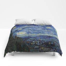 Van Gogh, Starry Night Comforters