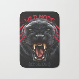 Wild Mode. Bjj, Mma, grappling Bath Mat
