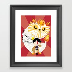 Puss in Boots Framed Art Print