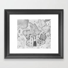orejas Framed Art Print