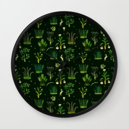 Bunny Forest Wall Clock