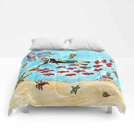 So Much To Sea Comforters