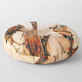 Camels Floor Pillow