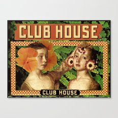Clubhouse Canvas Print