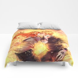 Heavenly Fire Comforters