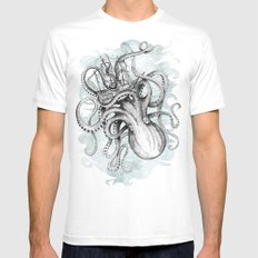 The Baltic Sea Mens Fitted Tee White LARGE