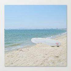 Edge of Long Beach Canvas Print