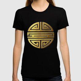 Four blessings Gold T-shirt