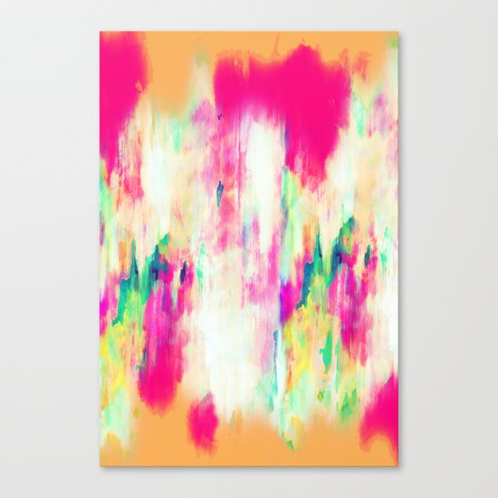 Electric Haze Canvas Print