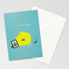 I Sulfur When You Argon Stationery Cards