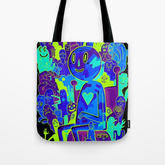 Knee-Jerk Tote Bag