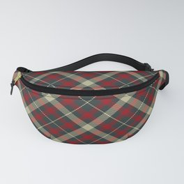 Holiday Plaid 17 Fanny Pack