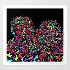 Junk Hearts Art Print