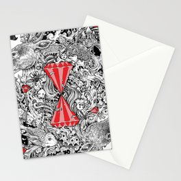 10 of Diamonds Stationery Cards