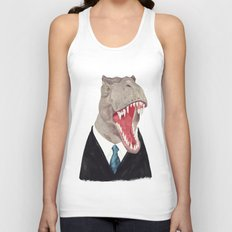 T. Rex - All Business Unisex Tank Top