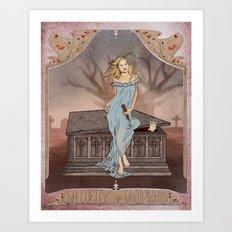 Boticelli/Art Nouveau Buffy Art Print