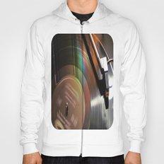Vinyl Rainbow Hoody