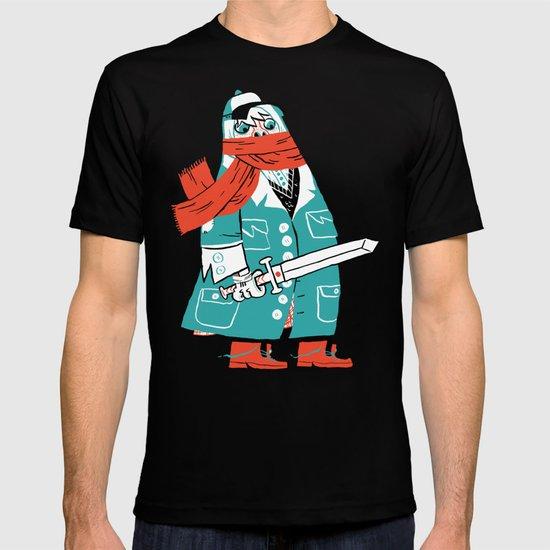 Creepy Scarf Guy T-shirt