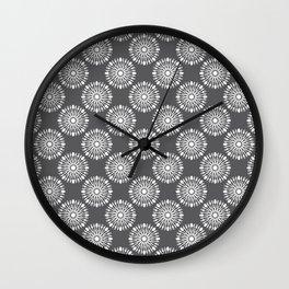 Kitchen cutlery dark circles Wall Clock