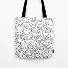 Sea of Lines 2 Tote Bag