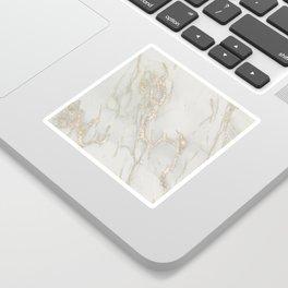 Marble Love Bronze Metallic Sticker