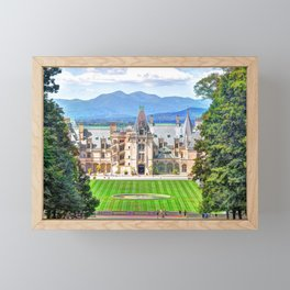 Biltmore House Framed Mini Art Print