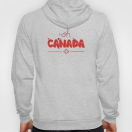 Oh Canada Day (Handlettered) Hoody
