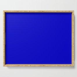 Simply Solid - Medium Blue Serving Tray