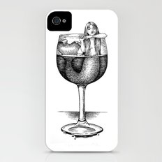 House Red With Mermaid iPhone (4, 4s) Slim Case