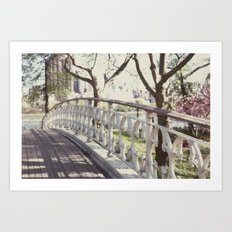 the bridge:: nyc Art Print