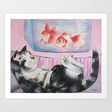 goldfish dream Art Print