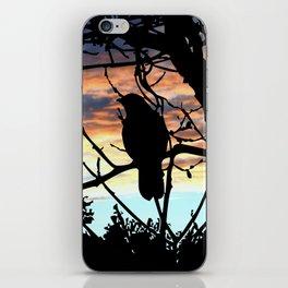 SUNSET BIRD iPhone Skin