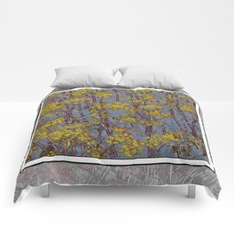 MAGIC DILL WEED Comforters
