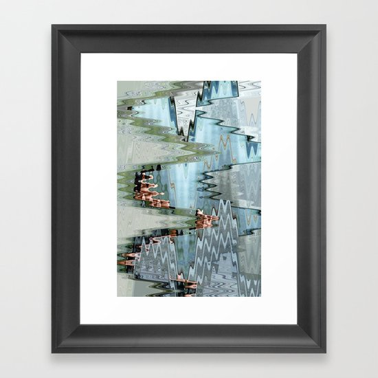 Nude on a Stair Framed Art Print