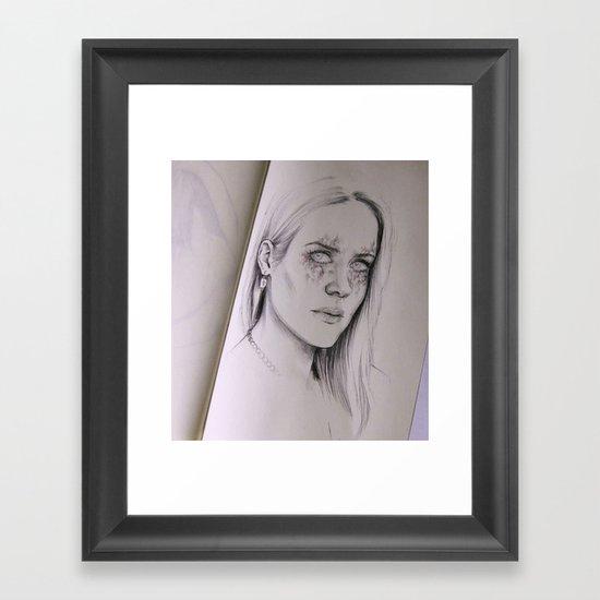 Foxx Framed Art Print