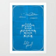 Stairway to heaven! Art Print