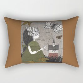 Oda (An All Hallows' Eve Tale) Rectangular Pillow