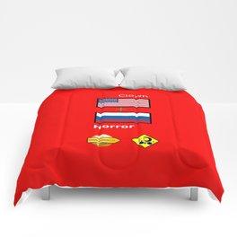 Clown Horror Comforters